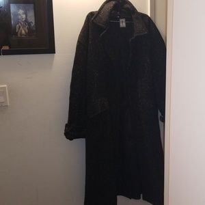Ysl men's vintage trench coat